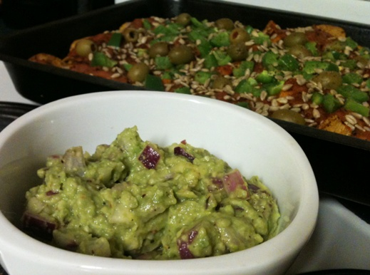 Em's Awesome Healthy Nachos