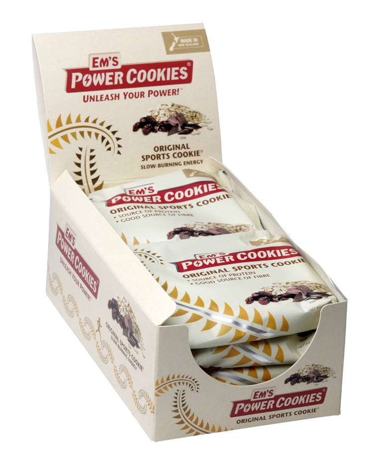 The Original Sports Cookie® – 8 Box | Em's Power Cookies